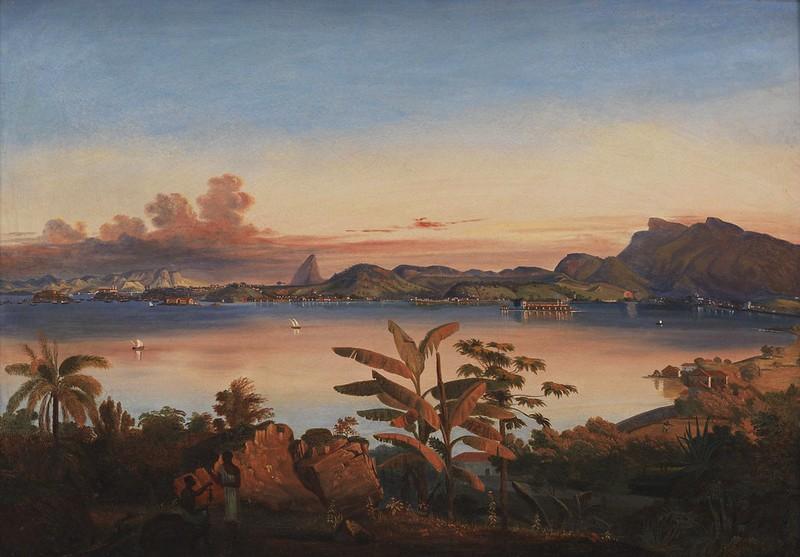 Alessandro Ciccarelli - View of Rio de Janeiro (c.1840)