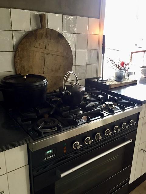 Fornuis keuken landelijke stijl