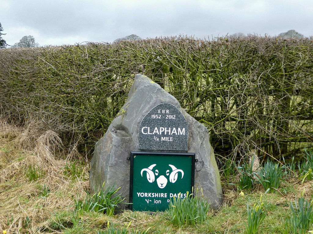 National Park sign, Clapham