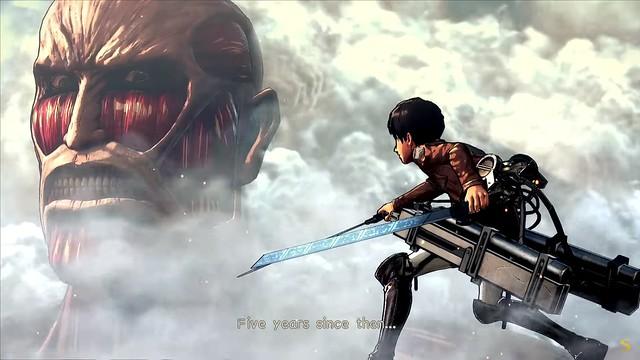 Angriff auf Titan 2 - Eren Gesichter kolossalen Titan