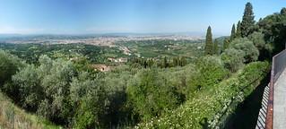 Вид с горы во Фьезоле
