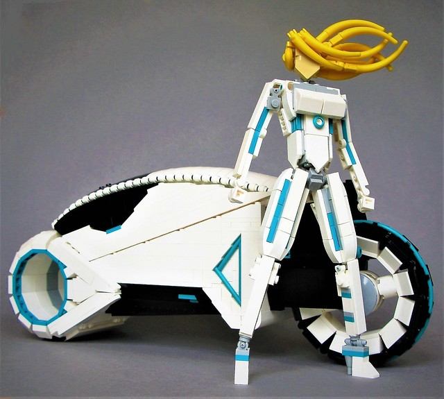 Vintage Tron Light Cycle