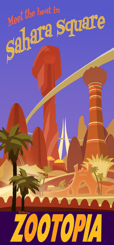 Special Art of the Day #187:  Meet the Heat in Sahara Square