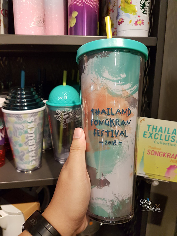Starbucks Thailand Songkran Day 2018 Collections paint