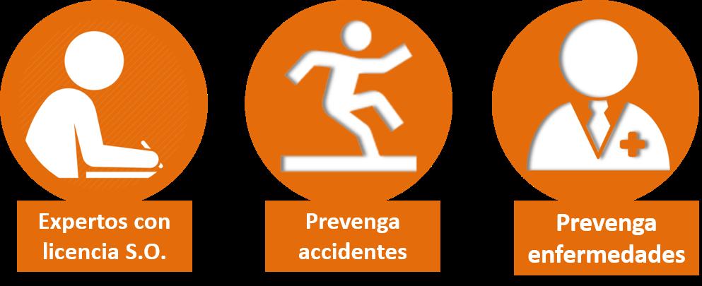 prevenga accidentes enfermedades laborales con nuestros profecionales con licencia so
