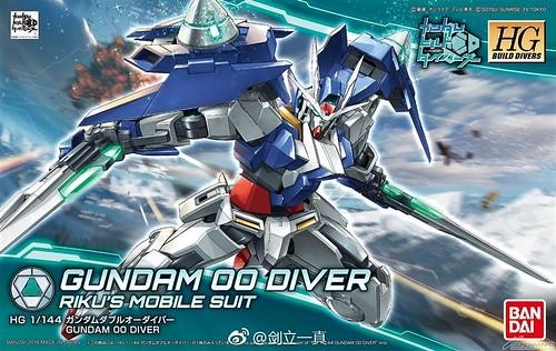 HGBD 1/144 Gundam OO Diver