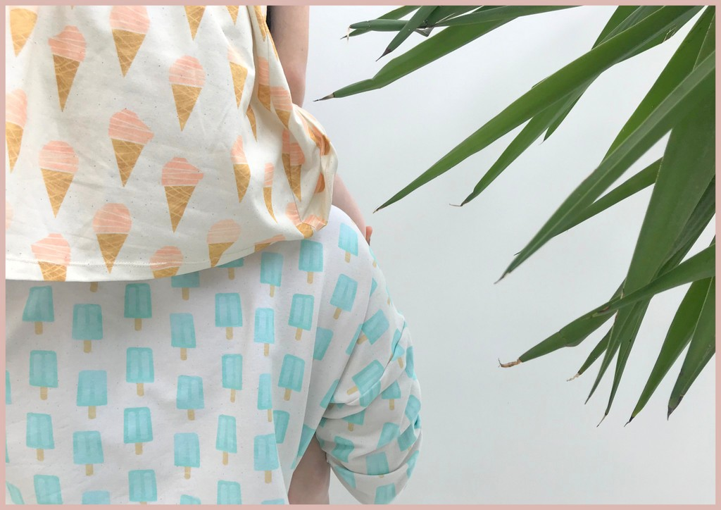 About Blue Fabrics - paper Pigeon collection