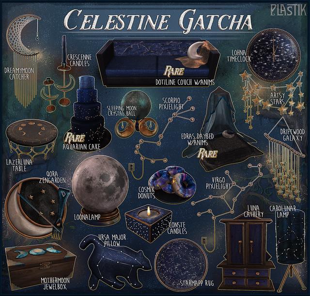 Plastik Celestine Gatcha - Epiphany
