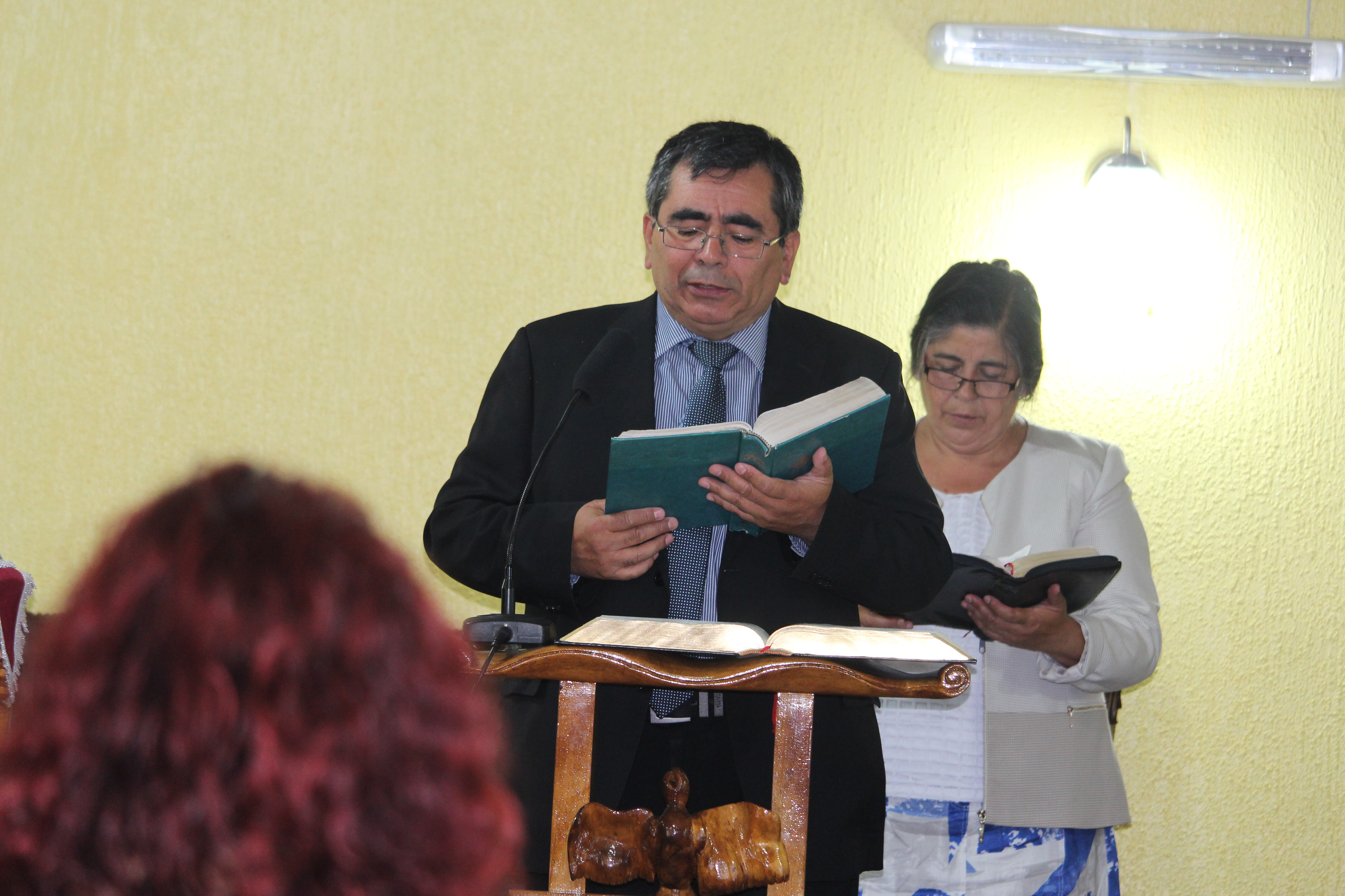 Bendición estudiantes IMPCH Pdte. Bulnes-Hualpén