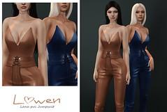 Lowen - Lana Pvc Jumpsuit