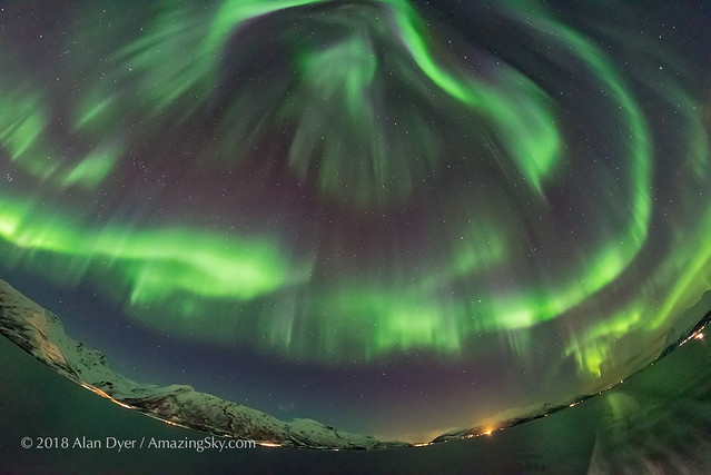 All-Sky Aurora from Norway #3