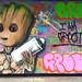 Groot Street Art by Blackers63