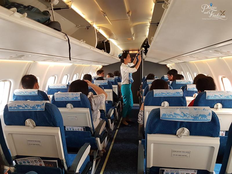 bangkok airways interior