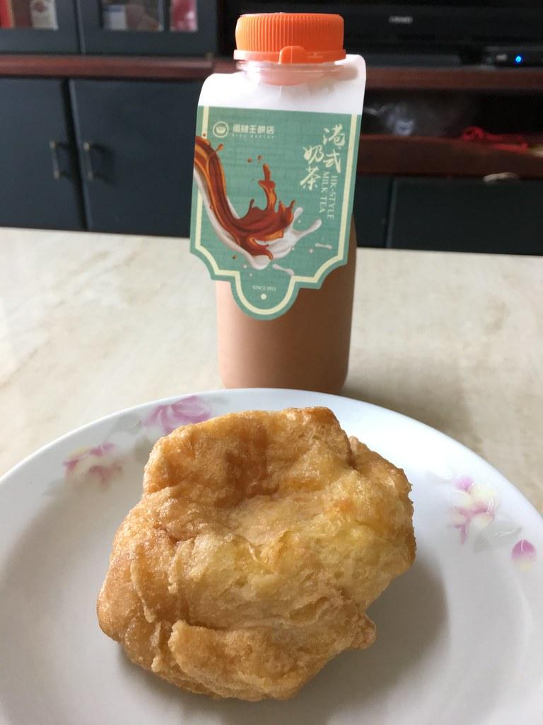 沙翁、港式奶茶