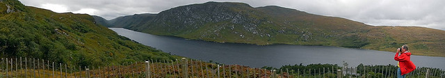 Lake in in Glenveagh National Park, Ireland