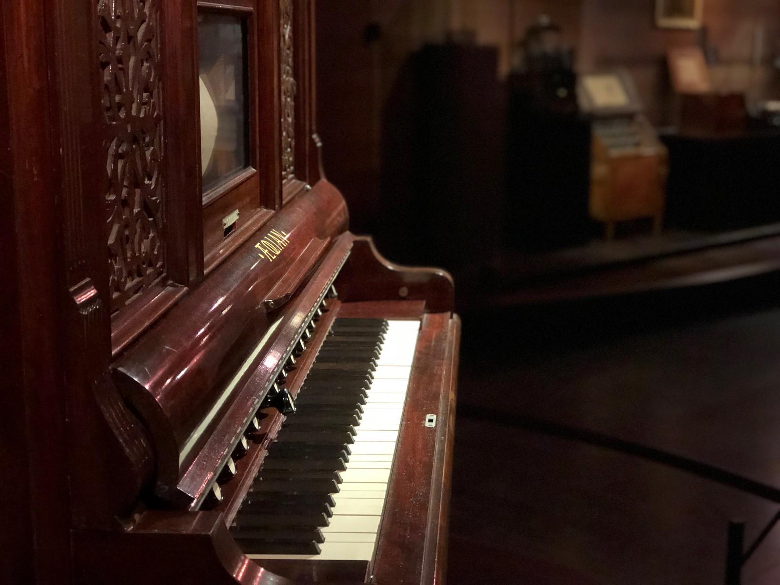 Visitando el Museo de los Instrumentos