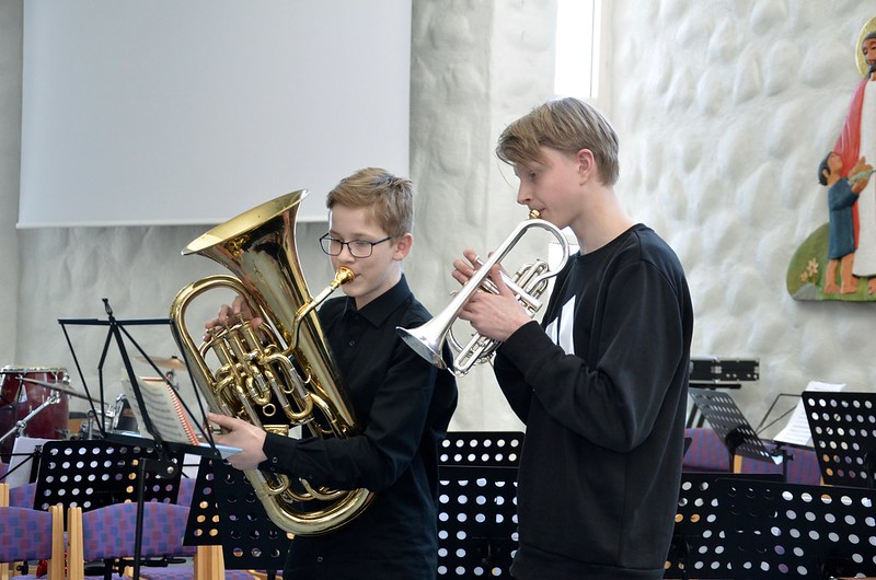 Gabriel Glänneskog och Lucas Johansson