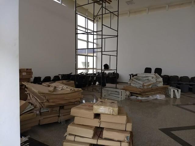 Situação da obra do hospital de Telêmaco Borba