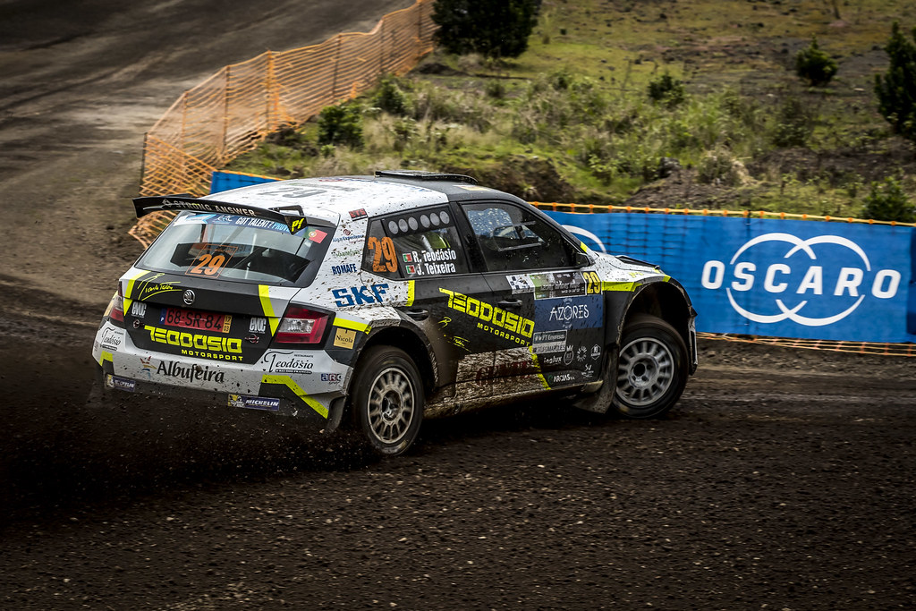 29 TEODOSIO Ricardo (prt), TEIXEIRA Jose (prt), SKODA FABIA R5, action during the 2018 European Rally Championship ERC Azores rally,  from March 22 to 24, at Ponta Delgada Portugal - Photo Gregory Lenormand / DPPI