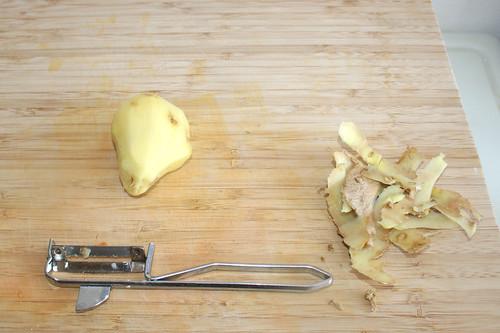 15 - Ingwer schälen / Peel ginger