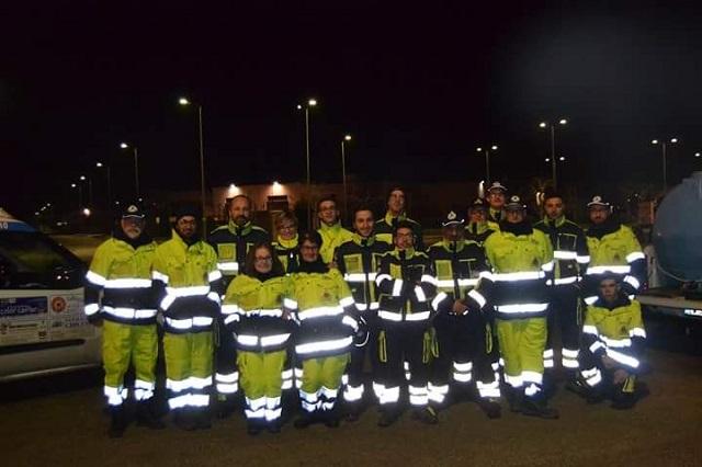 Noicattaro. protezione civile intero