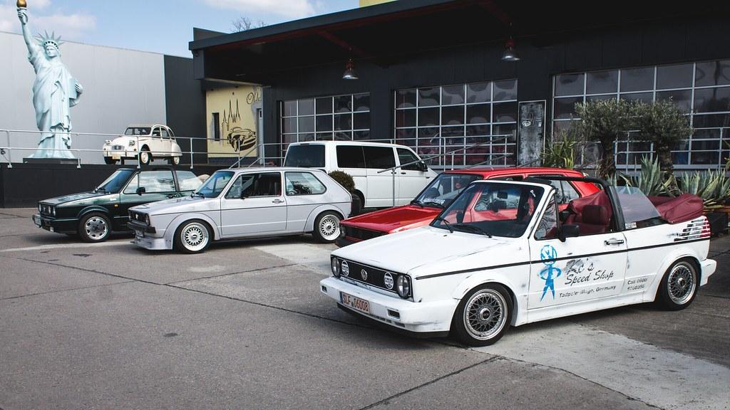 VW Golf Mk1 GTI & Cabrio & Mk2 Cabrio