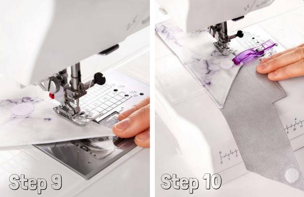 DIY Pencil Case Steps 9 10