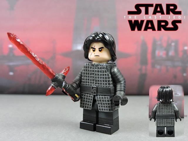 Custom LEGO Star Wars The Last Jedi: Kylo Ren