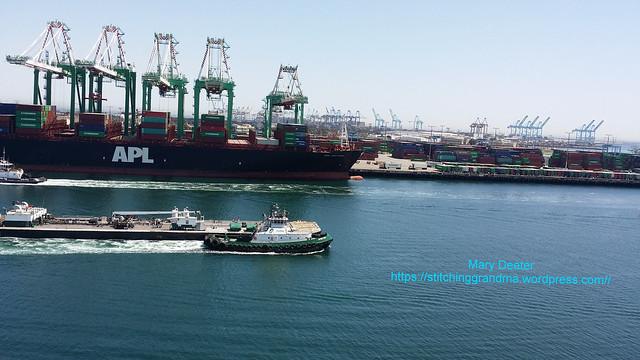 Port of San Pedro California.