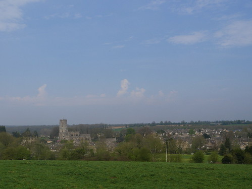 Coming back into Northleach
