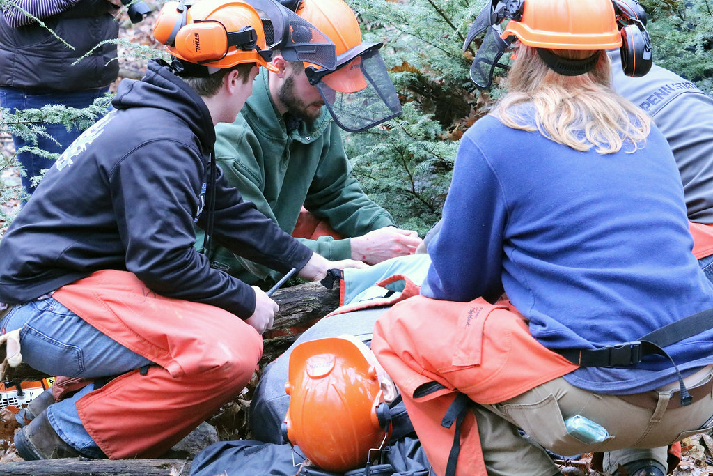 Forestry and Nursing Trauma Scenario