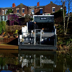 Homes overlooking the canal at Preston