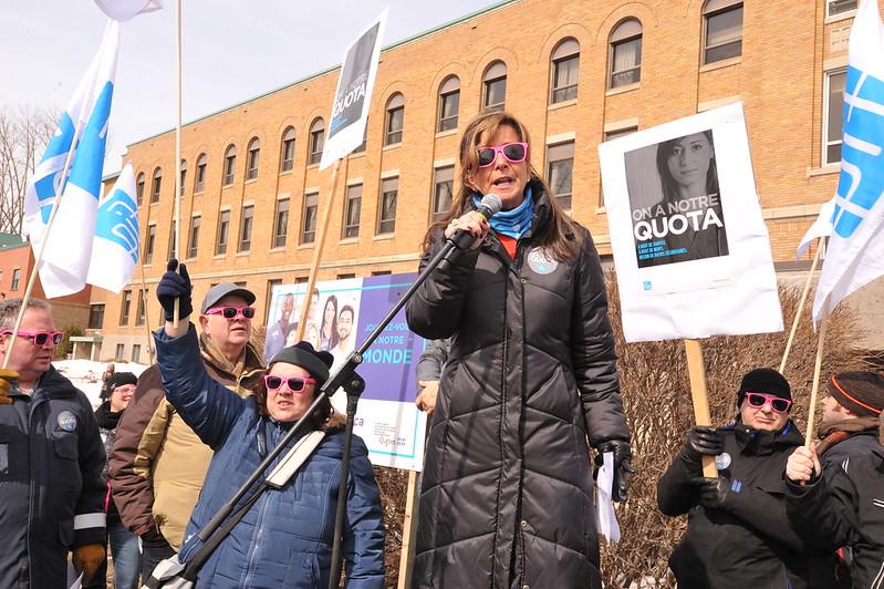 2018-03-21 - Manifestation au CIUSSS du Nord-de-l'île-de-Montréal