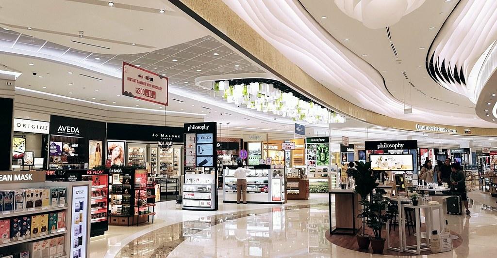 Shilla Duty Free @ Changi Terminal 4