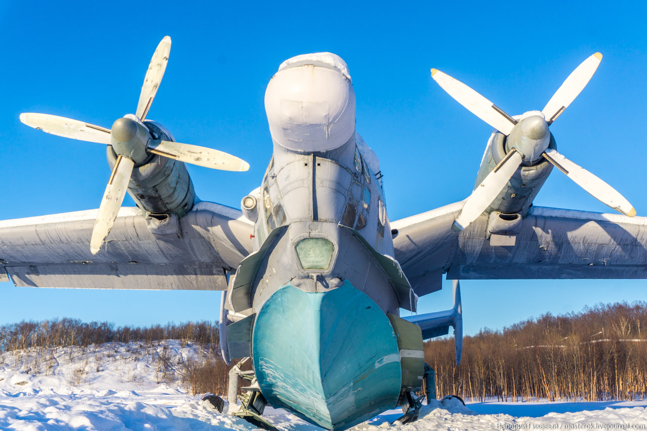 Музей ВВС Северного флота в закрытом городе