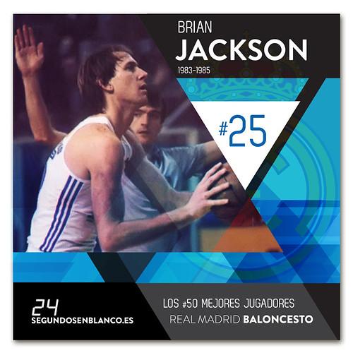 #25 BRIAN JACKSON