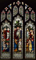 Sermon on the Mount (Harry Ellis Wooldridge for Powell & Sons, 1875)