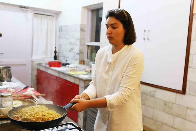Julia Child in Delhi – Italian Diplomat Elettra Verrone Cooks Her Perfect Pasta, Jor Bagh