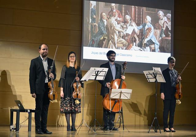 Concerts a la Fundació: Cuarteto Cisneros