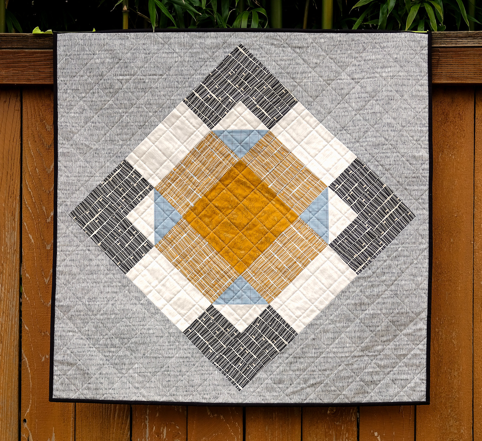 My March Giant Block Quilt