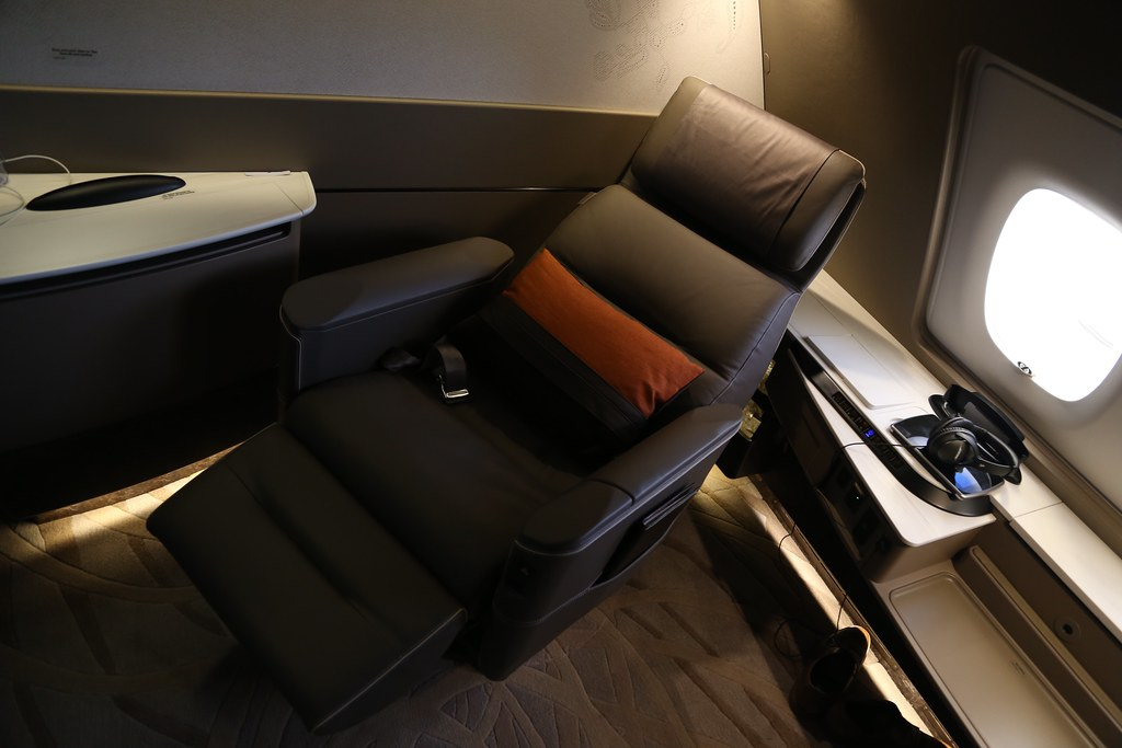 Singapore Airlines First Class Suites 26