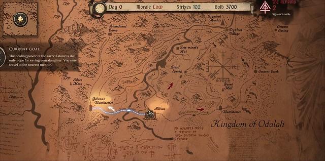 Ash of Gods Redemption - Map