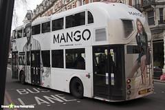 Wrightbus NRM NBFL - LTZ 1120 - LT120 - Mango - Shephard's Bush 148 - RATP Group London - London 2018 - Steven Gray - IMG_7934