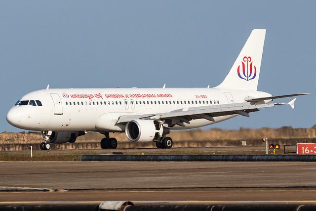 JC INTERNATIONAL AIRLINES A320-200 XU-993 001