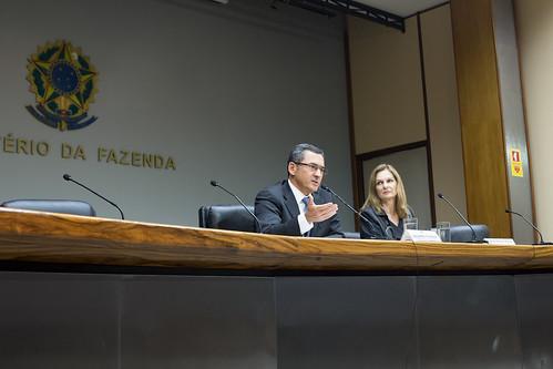 11/04/2018 Entrevista coletiva do novo ministro da Fazenda, Eduardo Guardia