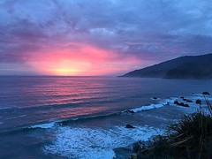 Big sur sunsets... they rarely disappoint... see you mañana #bigsur #kirkcreek