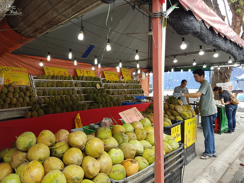 durian stall taman segar