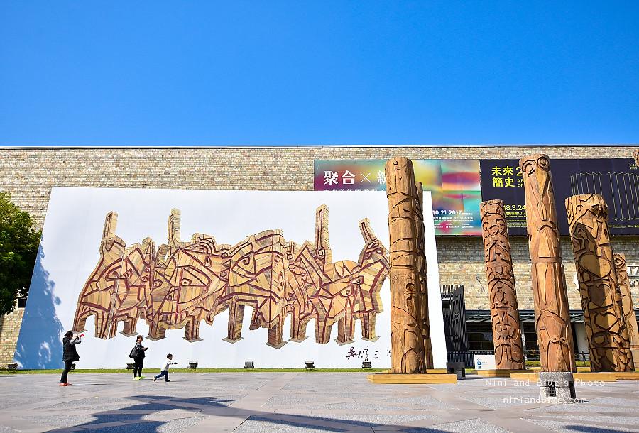 39146292000 48b3986075 b - 吳炫三回顧展,巨型木雕圖騰.狂野震撼.台中新景點