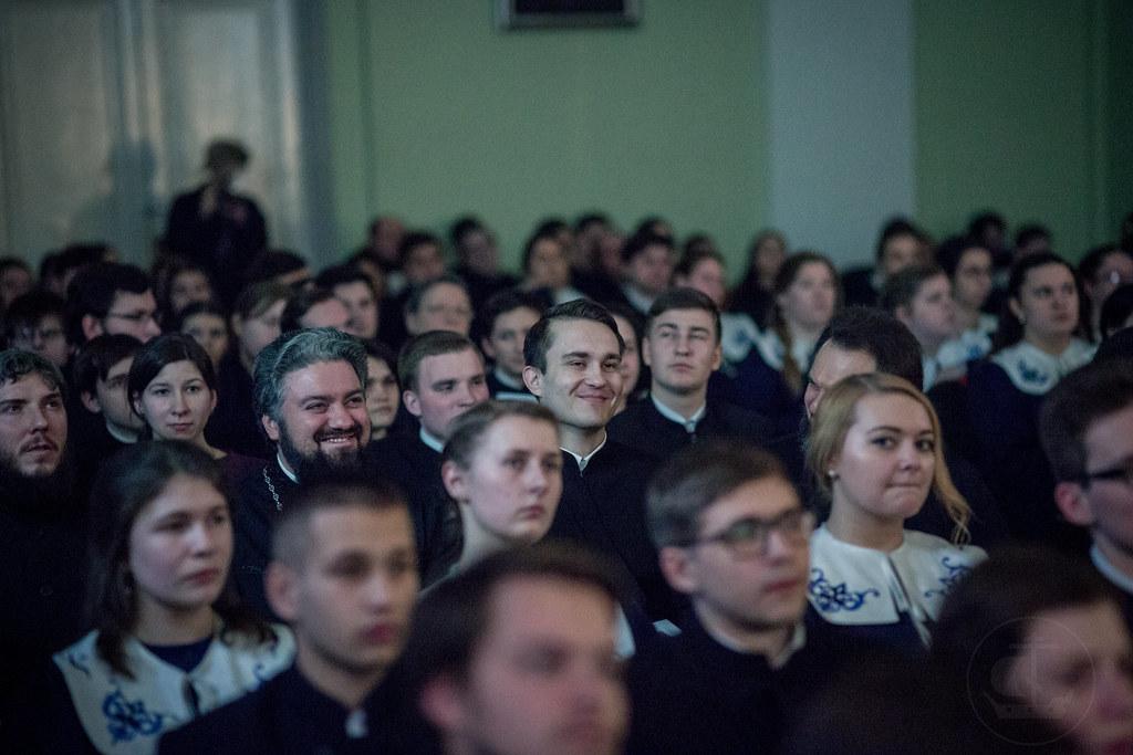 25 марта 2018, Заключительный вечер истории Духовной Академии/25 March 2018, The final evening of the history of the Theological Academy
