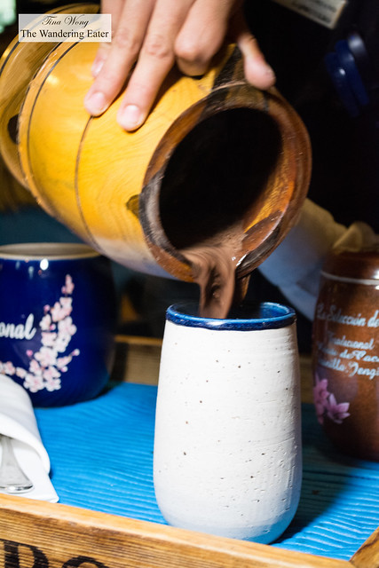 Oaxacan-style traditional hot chocolate